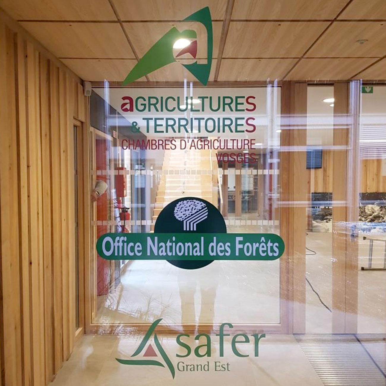 Signalétique Chambre d'agriculture