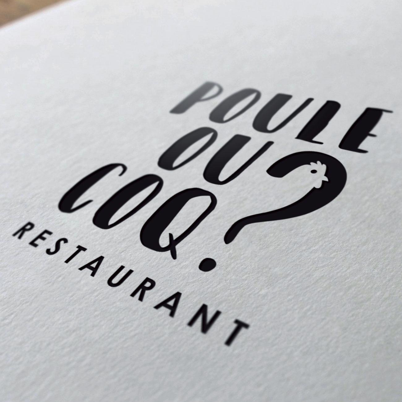 Création de logo Poule ou Coq